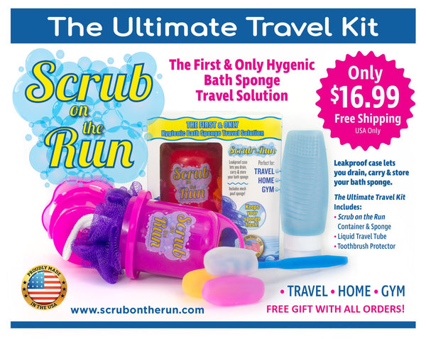 Scrub on the Run Travel Kit