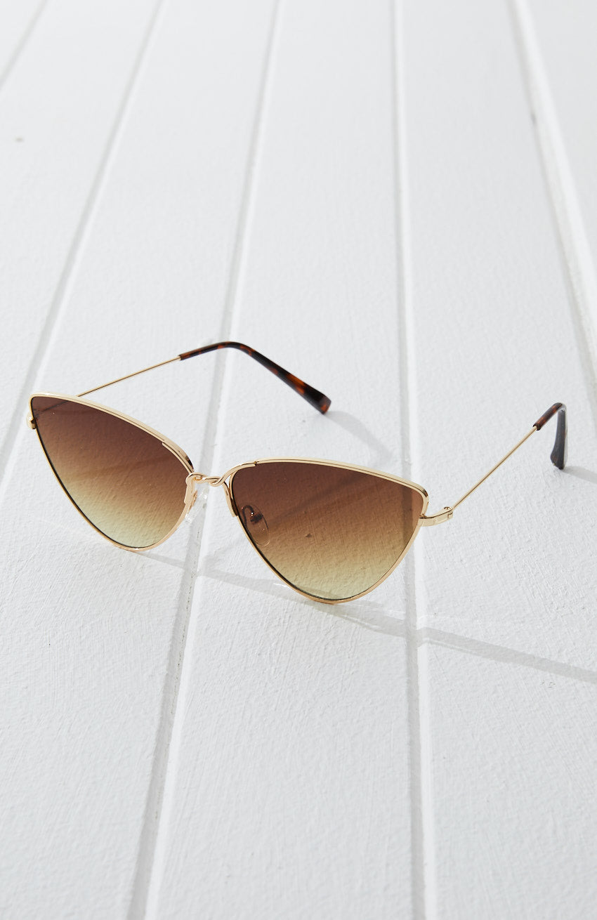 Natalie Boho Cat Eye Aviator Sunglasses
