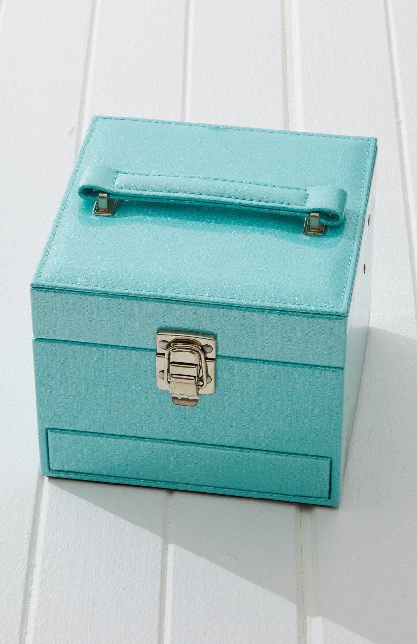 paris vegan leather classic jewellery box