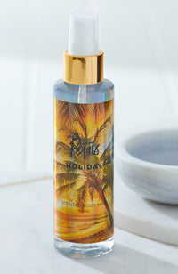 petals holographic scented body mist spray