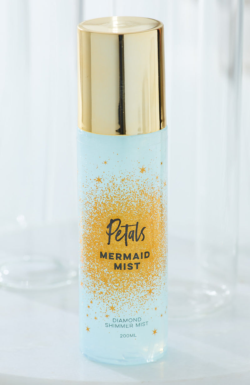 petals diamond shimmer spray scented mist