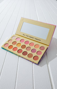 petals scented eyeshadow palette 21 colour gift box set
