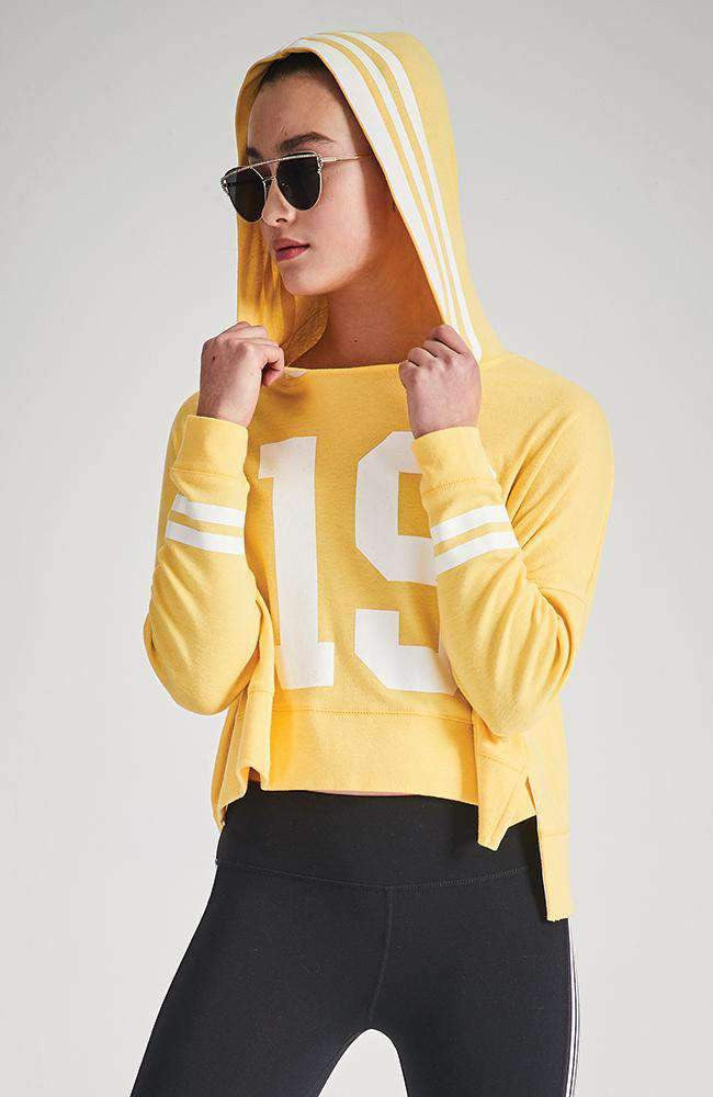 nyah hooded active sweat top