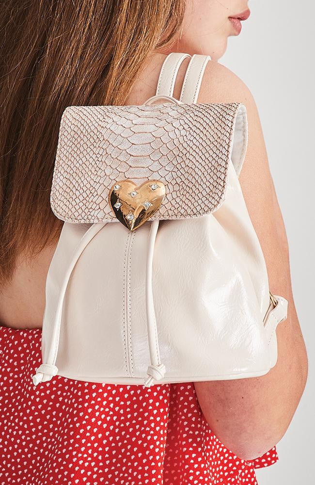 diamond heart bag