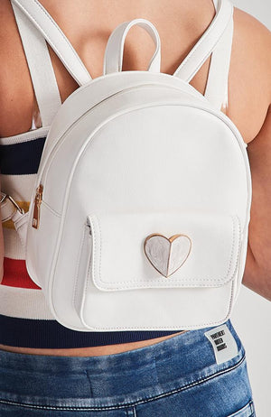 classy heart backpack