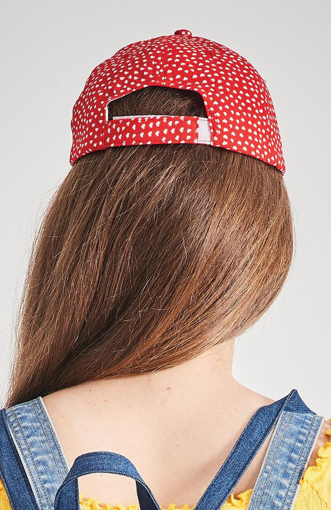 reina red hearts baseball cap