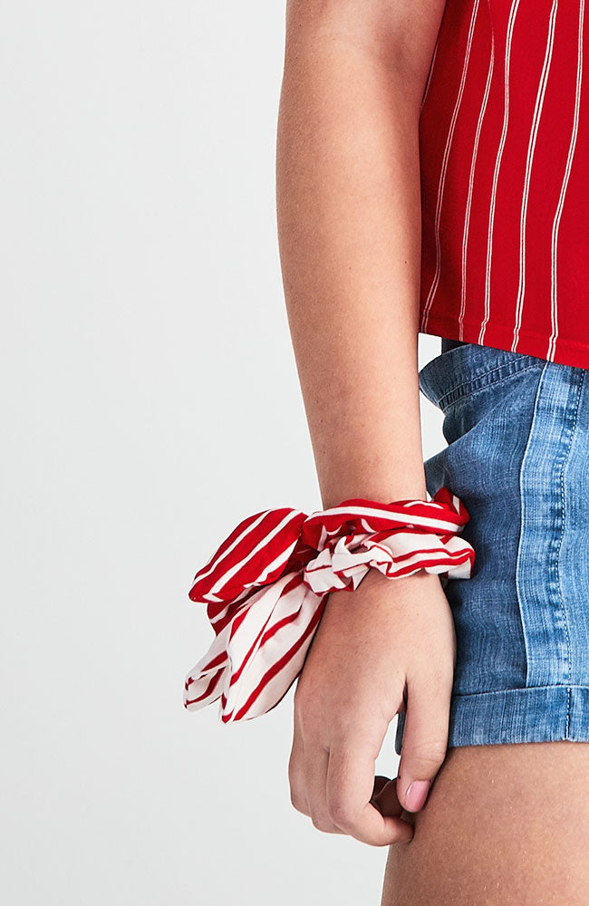 Nautical Stripes Scrunchie Set