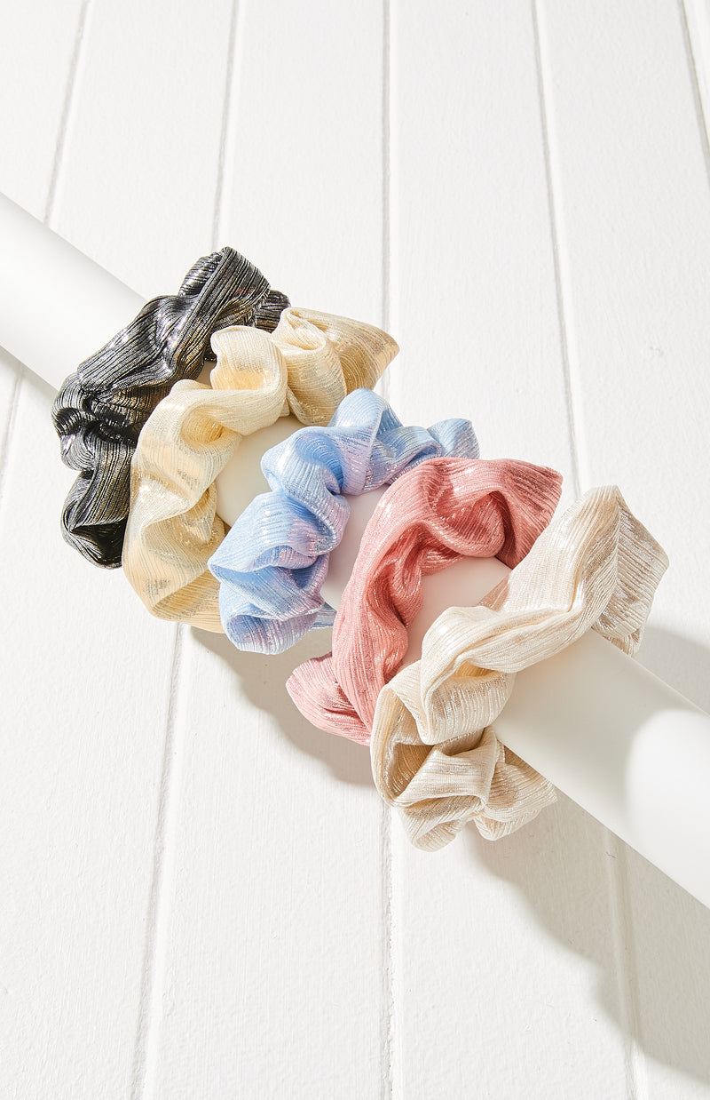 mermaid scrunchies set