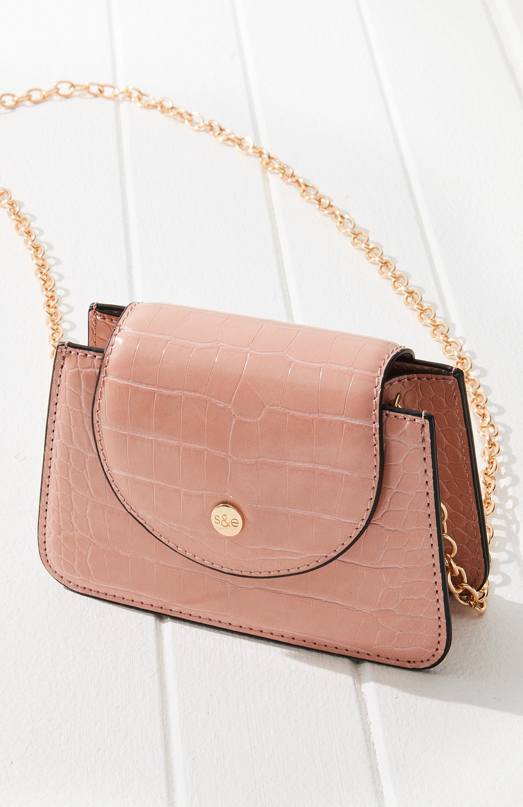 AS995008 Mini Croc Bag