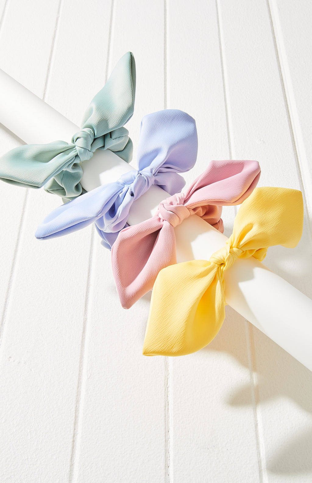 Meghan Bow Scrunchie Hair Tie 4 Pack