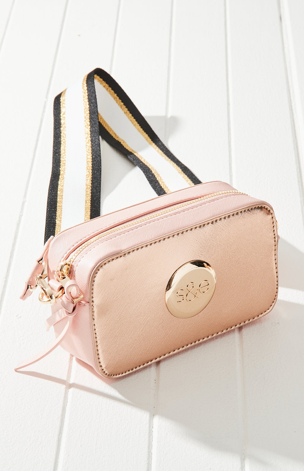 pastel camera cross body
