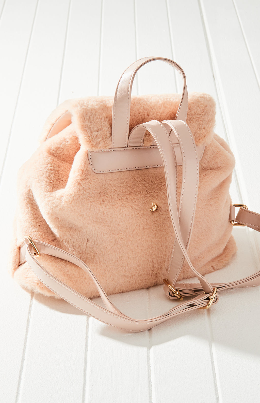 Bunny Rabbit Super Soft Vegan Fur Backpack