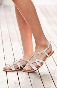 tiffany crystal sandal