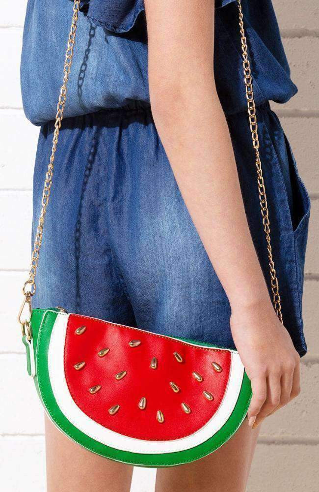 summer watermelon bag