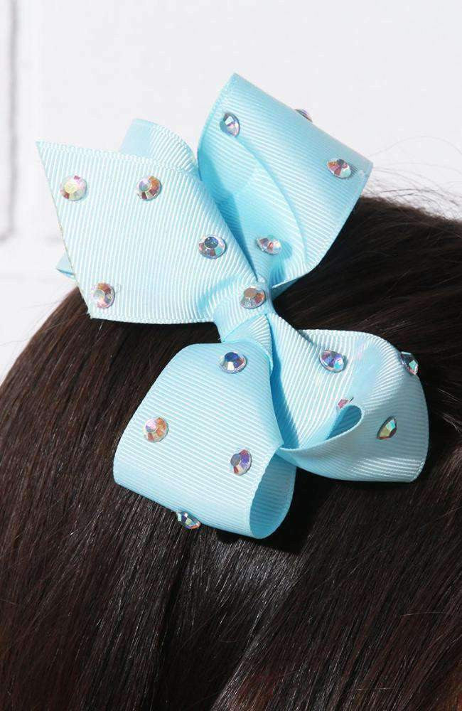 iridescent crystal bow