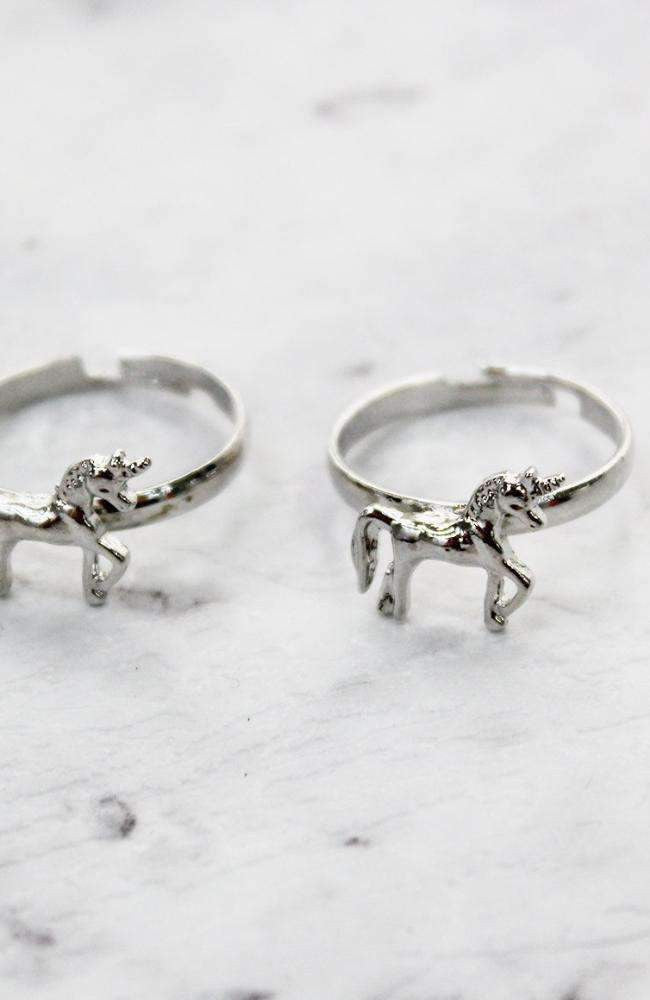 unicorn bff rings