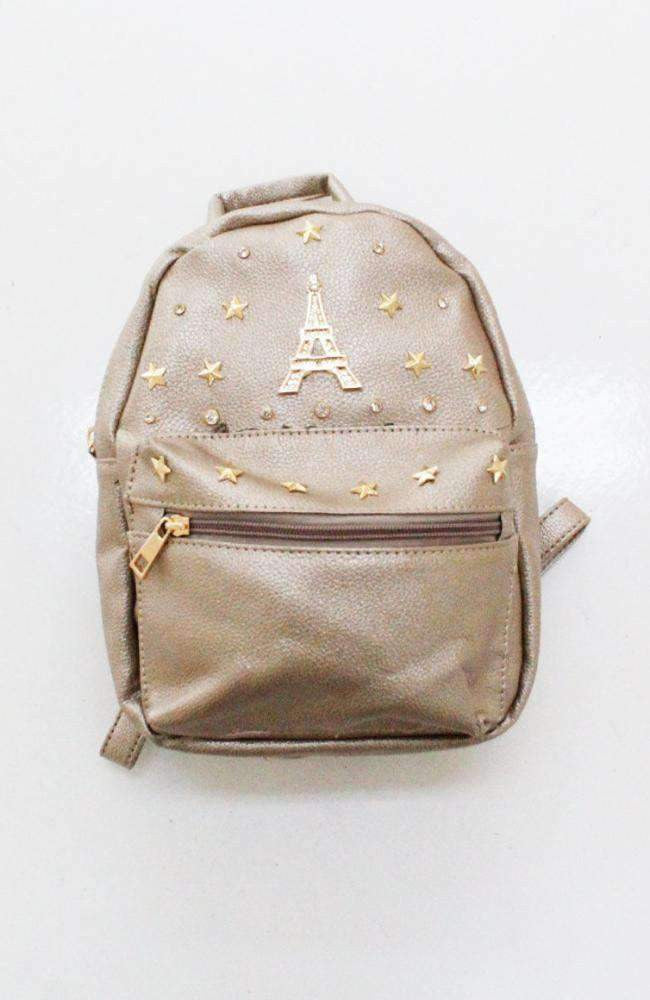 eiffel tower backpack