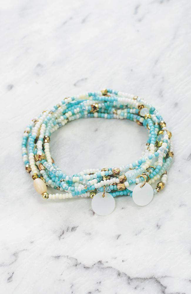 mermaid beads bracelet set