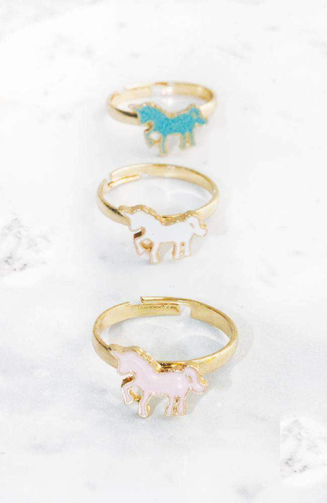 unicorn ring set