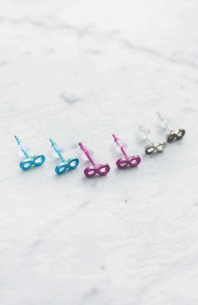 infinity earring set