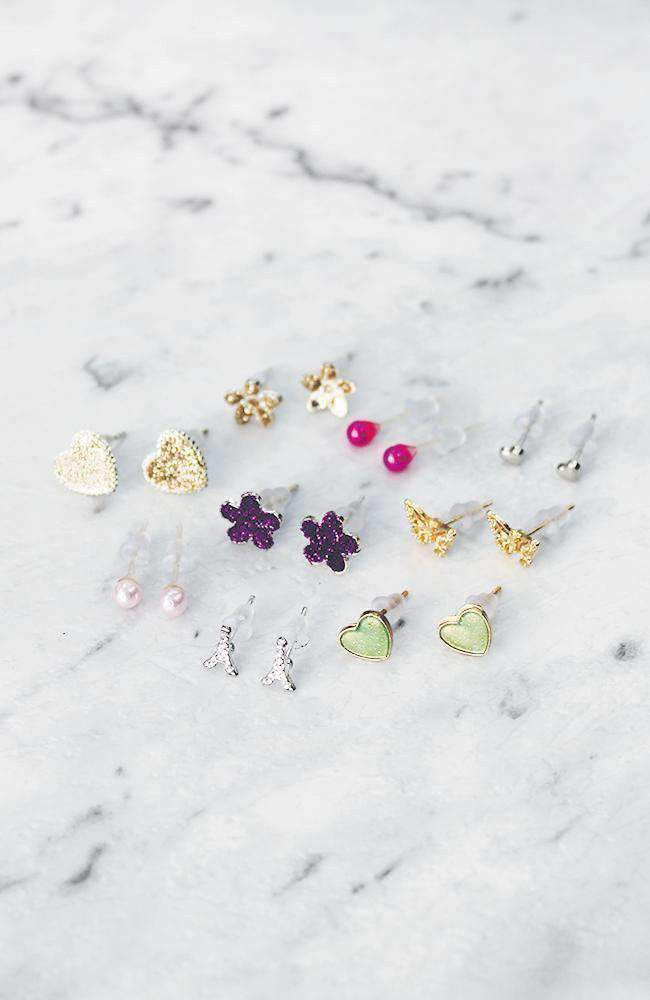 paris spring earring collection