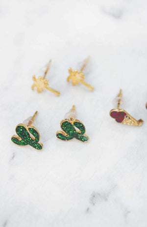 palm springs earring set