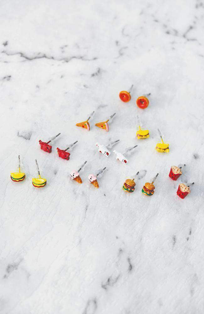snacks earring collection