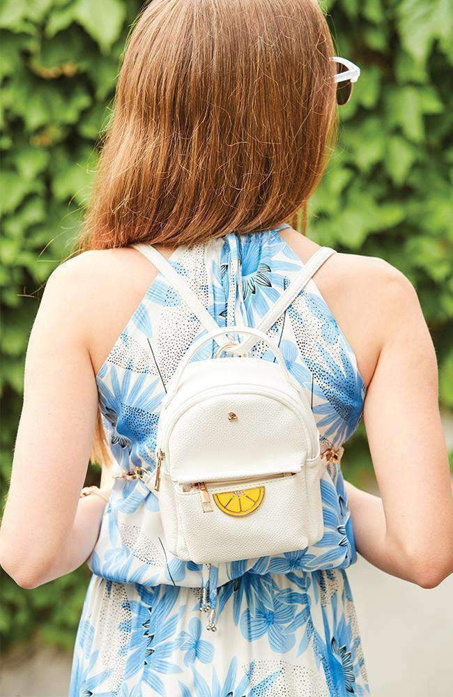 lemon slice backpack