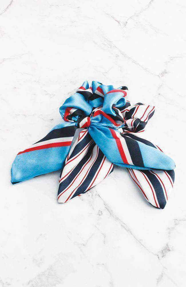 sports stripes scrunchies