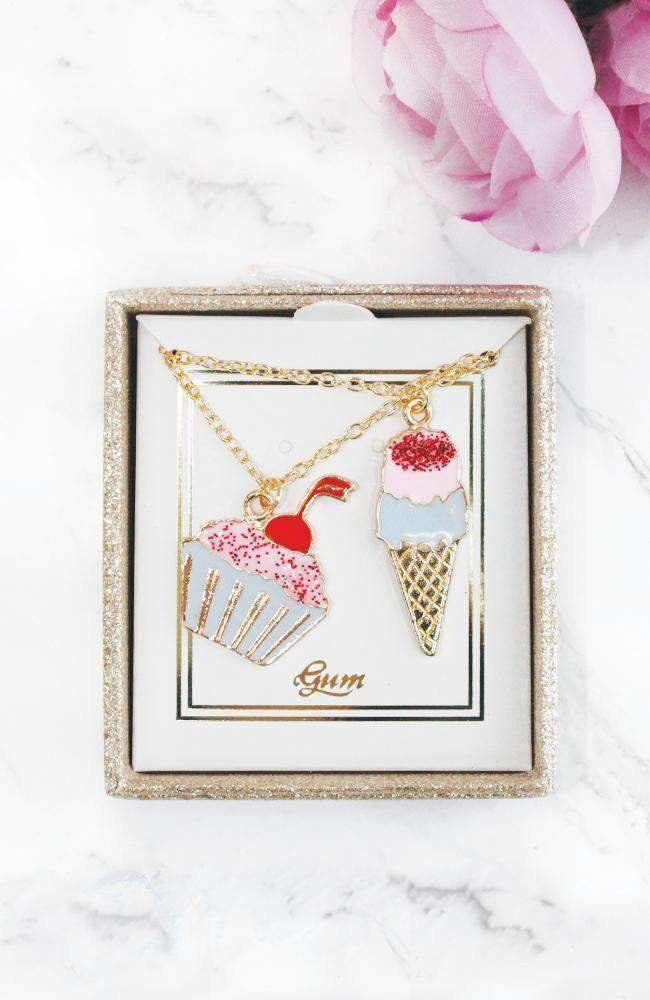 sweet treats necklace set