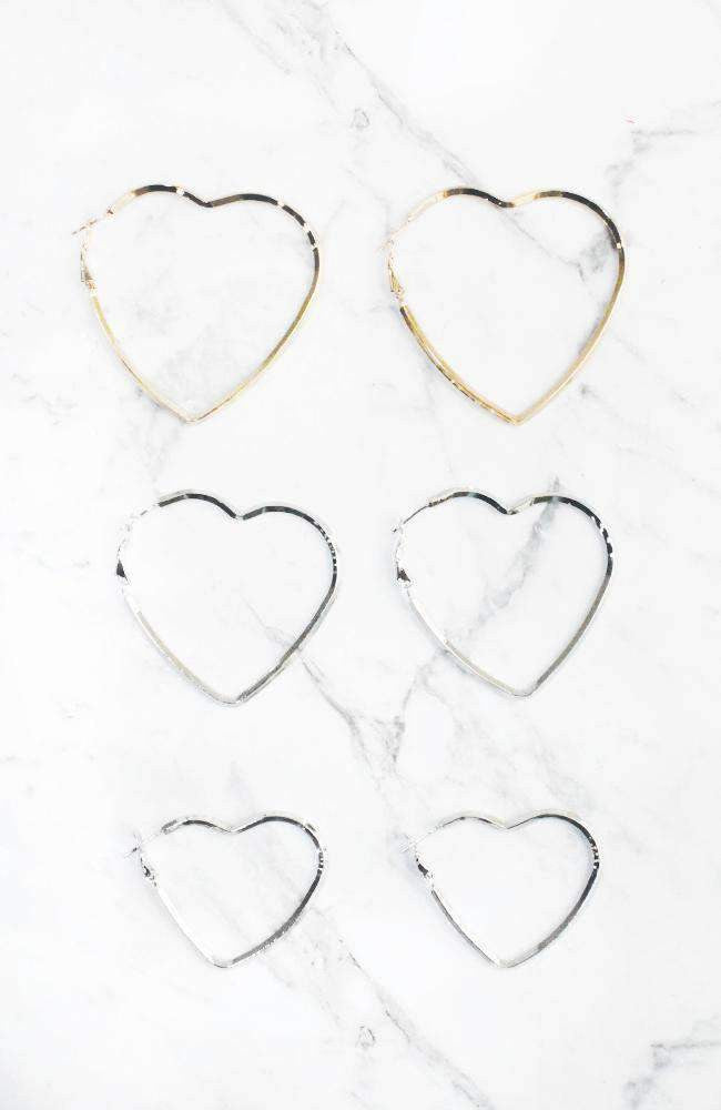 heart hoops set
