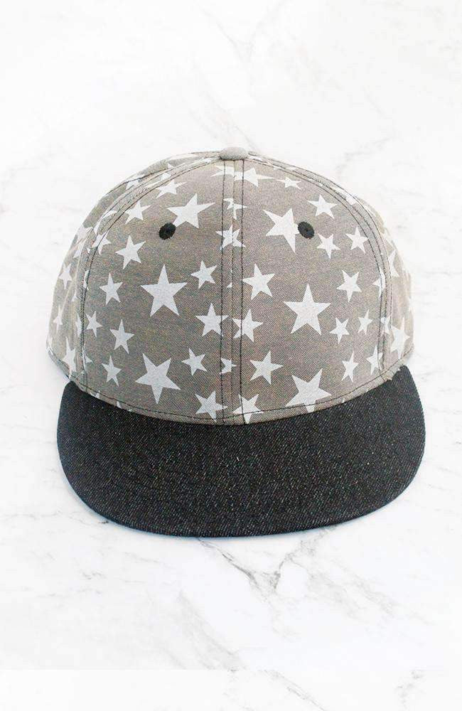 denim stars cap