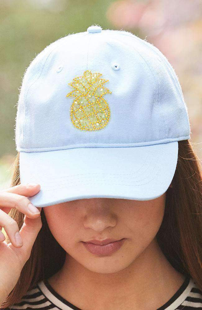 embroidered pineapple cap