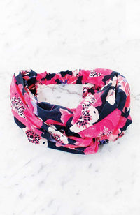 retro floral headwrap