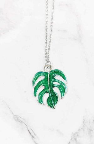 tropical necklace set