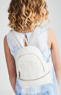 glitter palms backpack