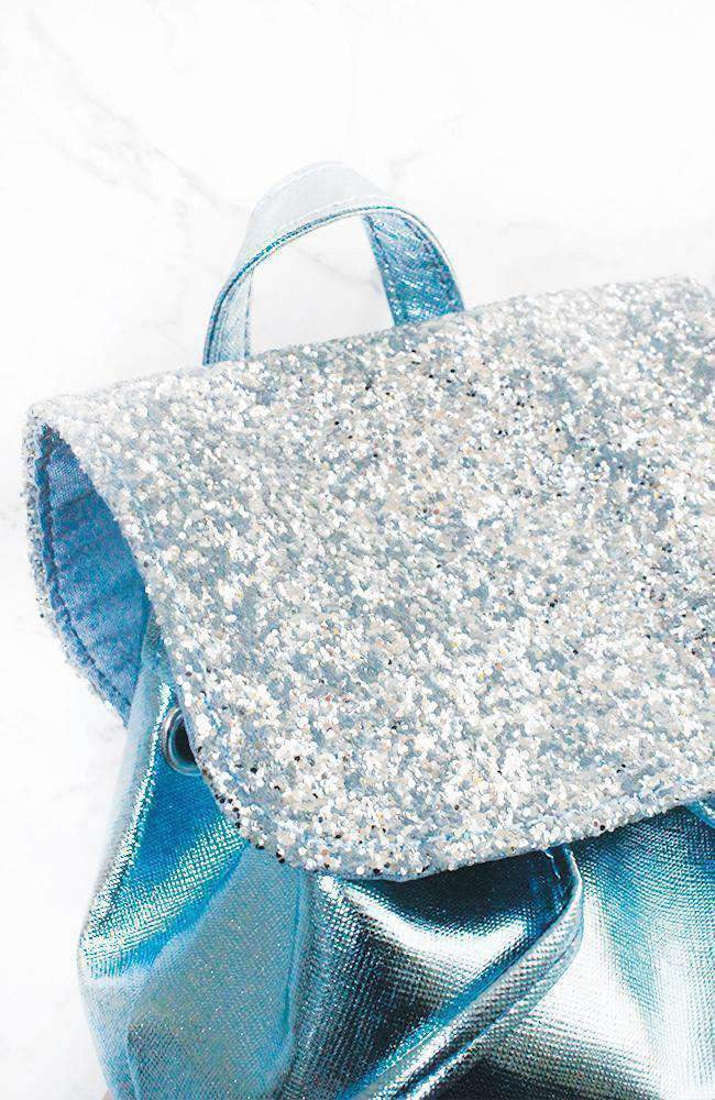 glitter paris backpack