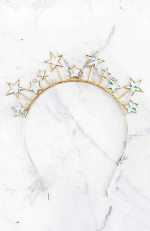 shooting stars headband