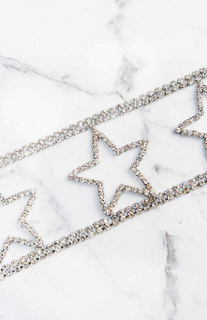 superstar diamond choker