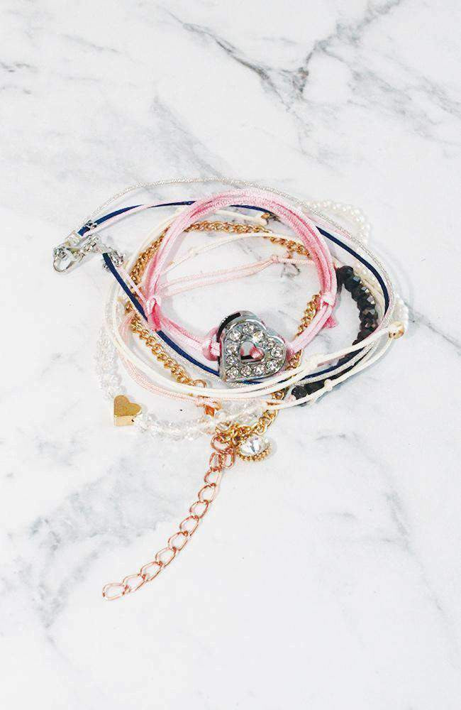 rose love bracelet set