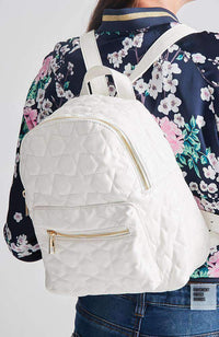quilted stars backpack