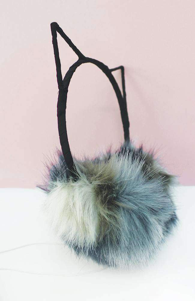 kitty ears headphone earmuffs