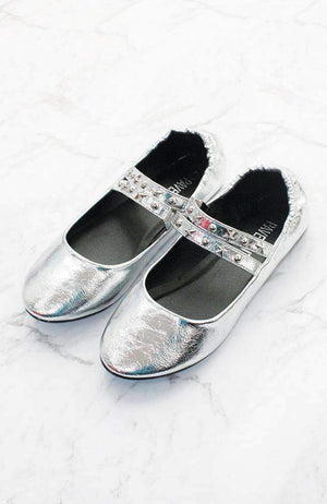 starry night ballet flat