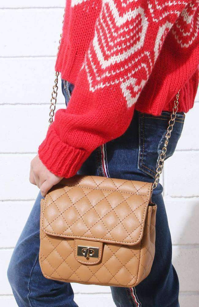 classic quilted bag