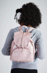 bella zips luxe silky backpack