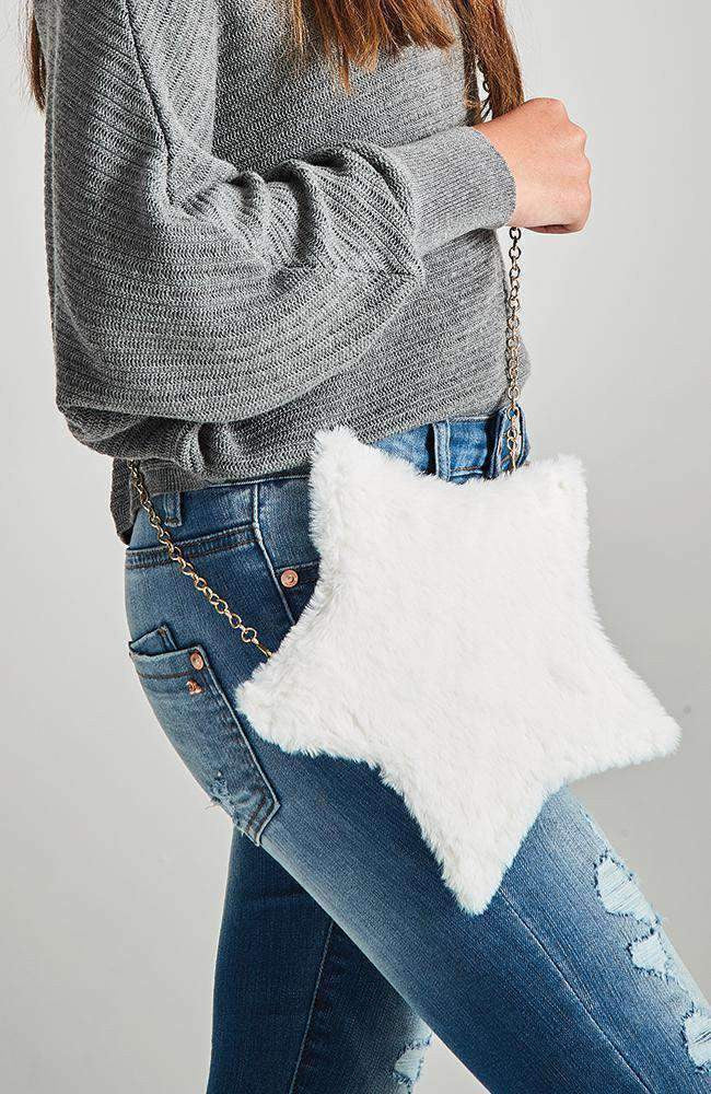 fluffy star bag