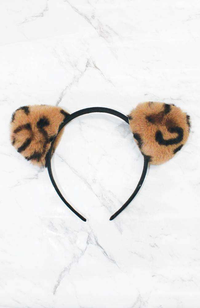 furry kitten headband