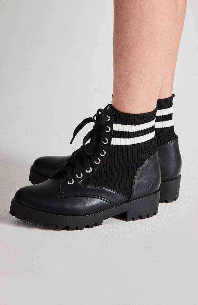 hailey sock boot