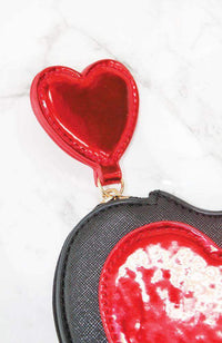 patent heart coin purse