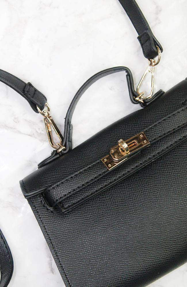french gold clasp mini bag